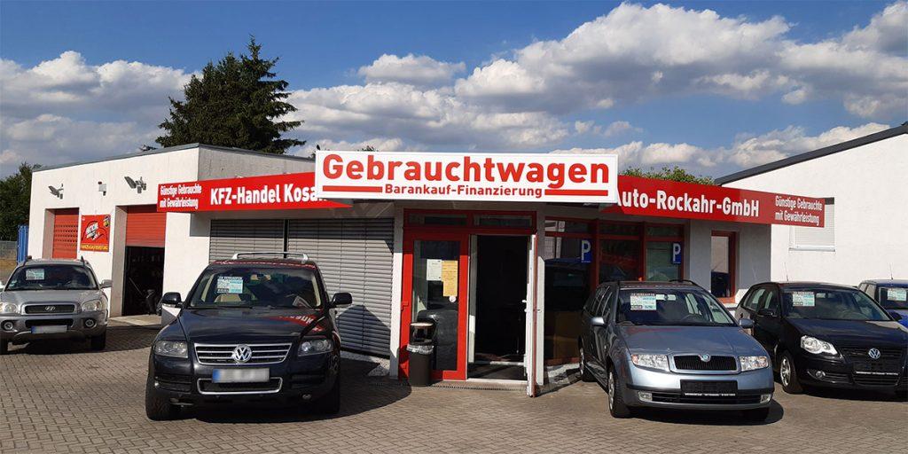 Auto-Rockahr-Außenansicht Gebrauchtwagenhandel in Fürstenwalde
